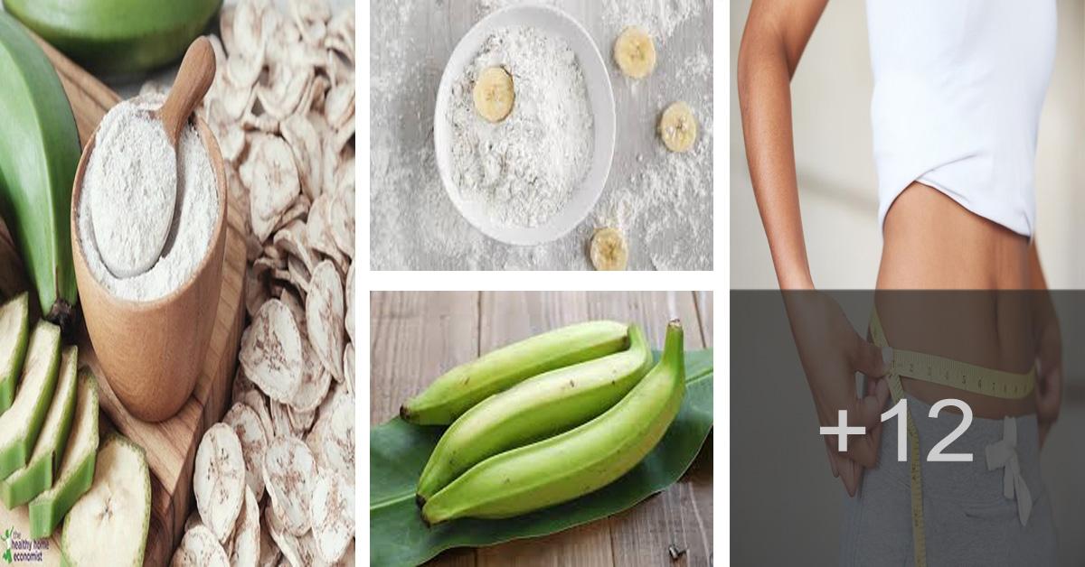 Aprende a hacer Harina de plátano verde para perder peso